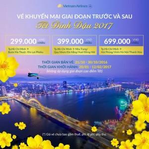 Vietnam Airline khuyến mãi lớn