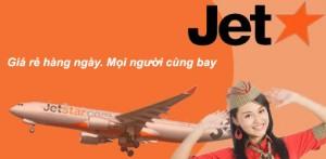 Đặt mua vé máy bay Jetstar giá rẻ