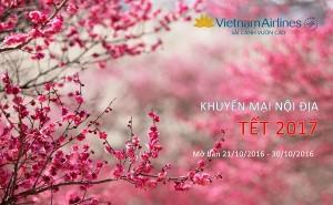 HOT! Vietnam Airlines mở bán vé khuyến mại nội địa Tết 2017 với mức giá SIÊU HẤP DẪN