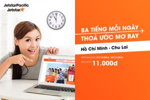 Săn vé Hồ Chí Minh- Chu Lai siêu rẻ