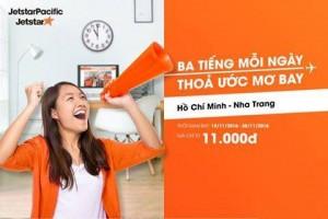 11.000 VNĐ- JETSTAR KHUYẾN MÃI LỚN