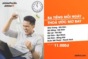 Săn giá rẻ 11.000 VNĐ với Jestar